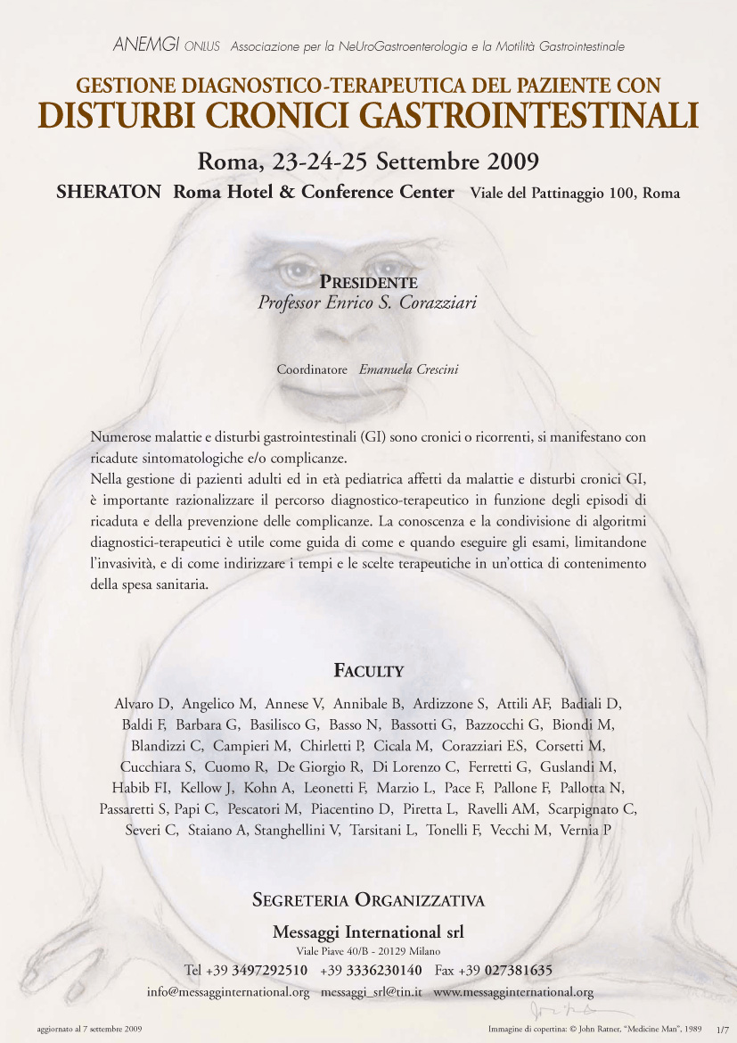 Disturbi Cronici Gastrointestinali Roma 2009